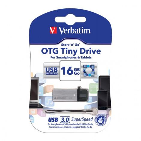 USB 16GB Verbatim OTG Tiny 64444