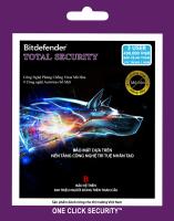 Phần mềm diệt virus Bitdefender TOTAL 3U/1Y