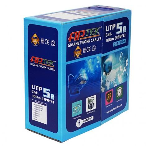 Cable thùng Aptek Cat 5e UTP 100m