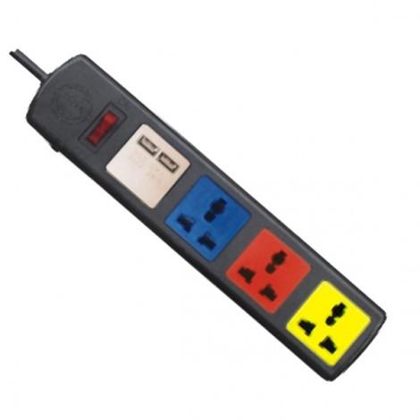 Ổ cắm điện LIOA 4D32NUSB