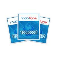 Thẻ cào điện thoại Mobifone 100