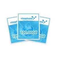 Thẻ cào điện thoại Vinaphone 100