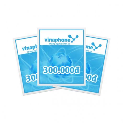 Thẻ cào điện thoại Vinaphone 300