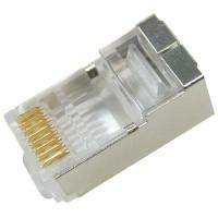 DINTEK Shielded RJ45 Modular Plug