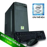 Máy bộ TNC I3-8100 HDD 8GB