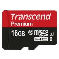 Thẻ nhớ 16GB Micro SD Transcend