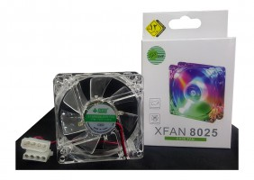 "FAN CASE LED 8"" P-NET XFAN 8025"