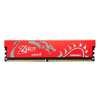 RAM Desktop 16GB Kingmax Bus 2666Mhz HEATSINK (Zeus)