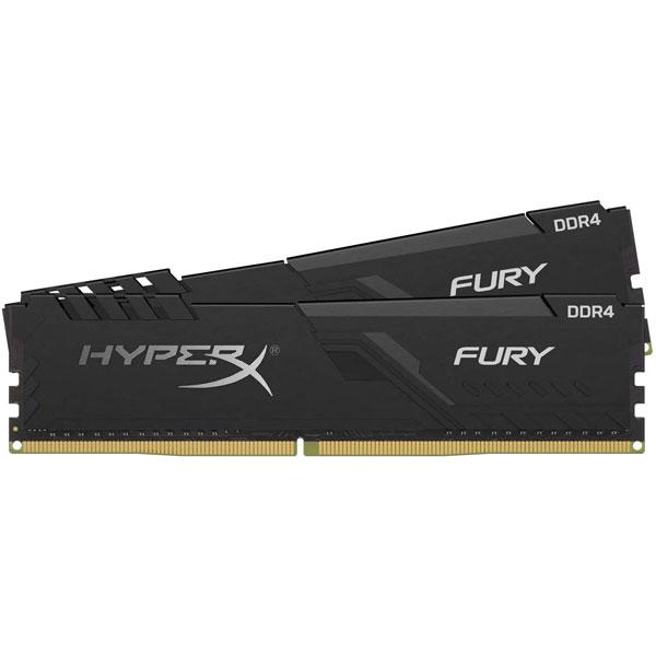 RAM Desktop Kingston HyperX Fury 16GB (2x8GB) DDR4 Bus 3200MHz HX432C16FB3K2/16