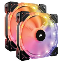 Bộ 2 Fan Corsair HD140 RGB LED CO-9050069-WW kèm Controller