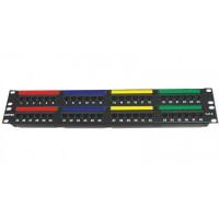 DINTEK Patch Panel Cat.6 UTP 2U 48P 19inch 1402-04012
