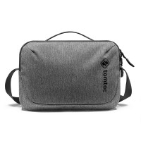 Túi đeo đa năng Tomtoc Crossbody For Tech Accessories and iPad 10.5/pro 11inch/tablet/notebook 11inch Gray H02-A01G
