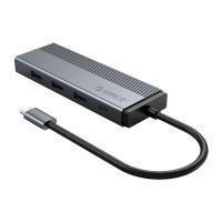 Hub USB 5 trong 1 Orico 5SXRJ-GY
