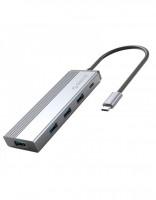 Hub USB Type-C 5 trong 1 Orico 5SXA-GY