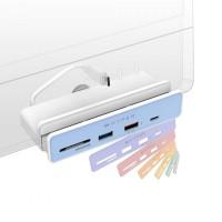 Hub USB-C 6 in 1 chuyên dụng IMAC 24 inch HyperDrive HD34A8
