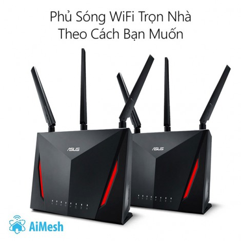 Router Wifi Mesh ASUS RT-AC86U (Gaming Router)