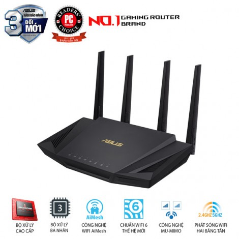 Router Wifi Mesh ASUS RT-AX58U