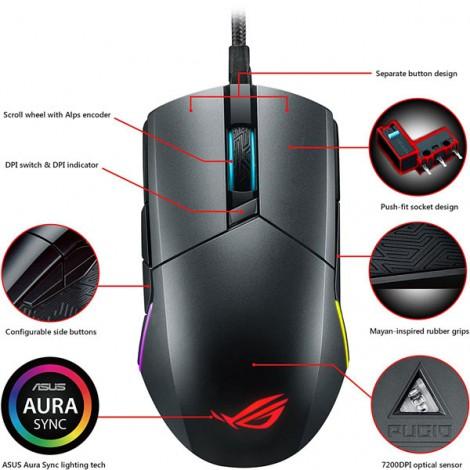 Mouse ASUS ROG Pugio (P503)