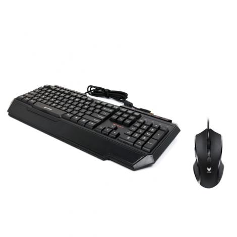 Keyboard + Mouse có dây giả cơ V100S