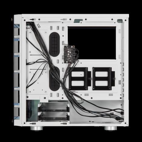 Case Corsair 465X RGB Tempered Glass (BLACK/WHITE) - Mid Tower