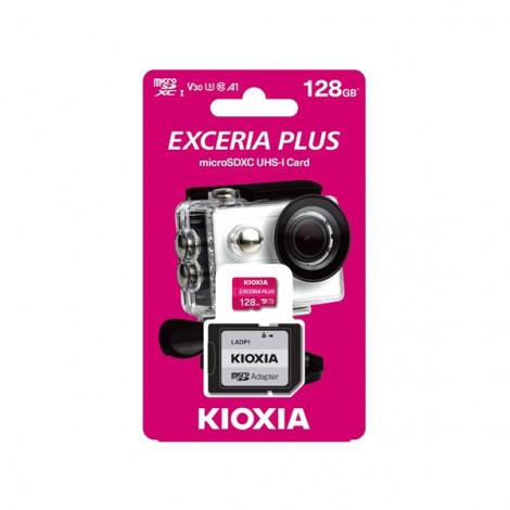 Thẻ nhớ Micro SDXC 128GB Kioxia Exceria Plus UHS-I C10-LMPL1M128GG2