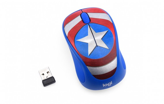 Mouse Logitech M238 Marvel Captain America