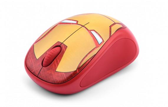 Mouse Logitech M238 Marvel Iron Man