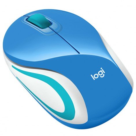 Mouse Logitech M187 (Màu xanh)