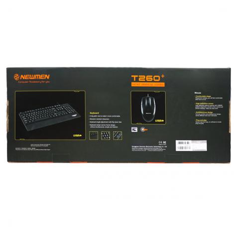 Keyboard + Mouse Newmen T260Plus