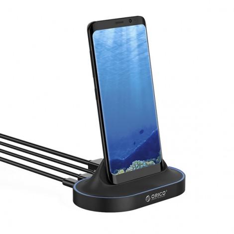 Dock chuyển đổi điện thoại Type C sang Cổng HDMI/2*USB 3.0/TYPE C Orico XC-402
