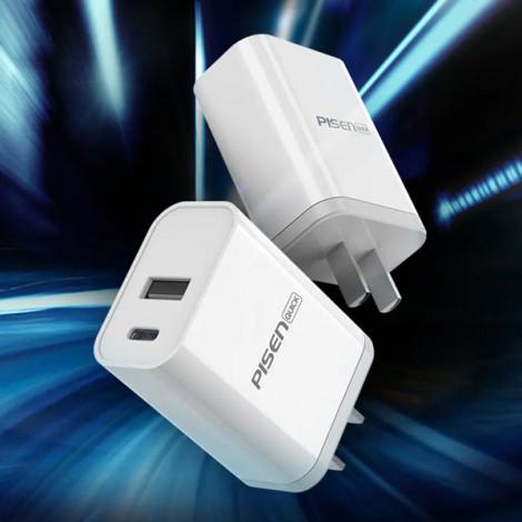 Cốc Sạc PISEN Quick USB Wall Charger QP18 TS-C112