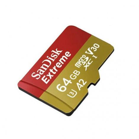 Thẻ nhớ 64GB Micro-SDHC SanDisk Extreme Action Camera V30 SDSQXA2-064G-GN6AA