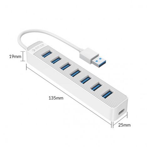 Hub USB Orico TWU3-7A-WH