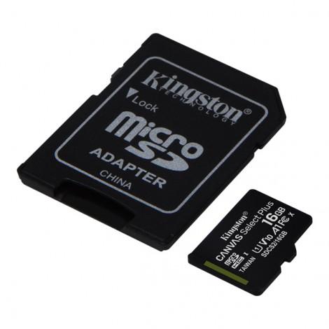 Thẻ nhớ 16GB MicroSDHC Kingston Canvas Select SDCS2/16GB