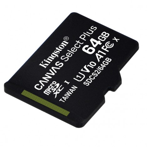 Thẻ nhớ 64GB MicroSDXC Kingston Canvas Select SDCS2/64GB
