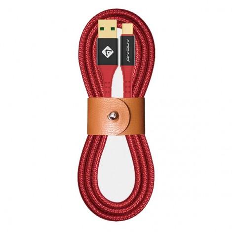 Cáp sạc Andino Type C 1.2M Red