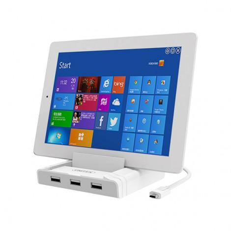 Hub USB 2.0 3 Ports + LAN + OTG Dock Unitek (Y - 2175)