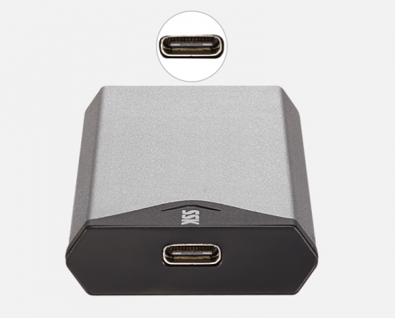 HDD BOX USB 3.0 -> M.2 NGFF SSK (SHE-C320)