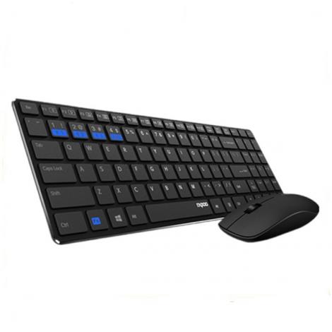 Combo bàn phím + chuột Wireless Rapoo 9300M