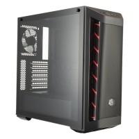 Case Cooler Master MasterBox MB511 TG Red Trim