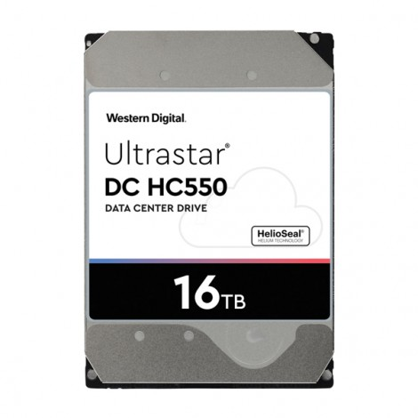 Ổ cứng HDD 16TB WD Enterprise Ultrastar HC550 WUH721816ALE6L4