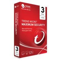 Phần mềm diệt Virus TrendMicro Maximum Security 3PC 2021