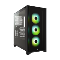 Case Corsair 4000X AIRFLOW RGB (Black / White) - Mid Tower