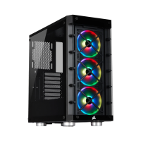 Case Corsair 465X RGB Tempered Glass (BLACK/WHITE) - Mid Tower