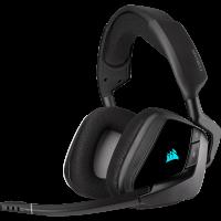 Tai nghe chơi game không dây Corsair VOID RGB ELITE 7.1 Carbon