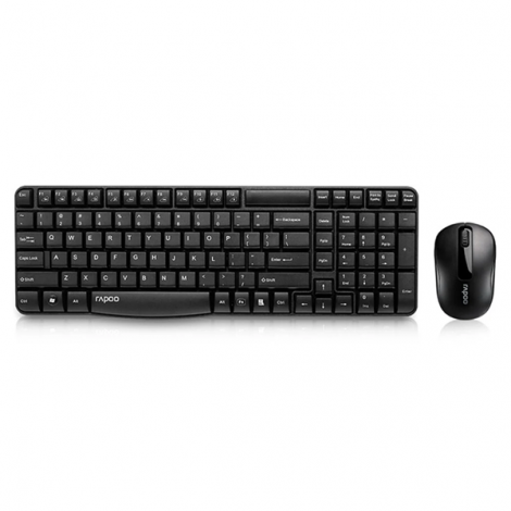 Combo bàn phím + chuột Wireless Rapoo X1800S