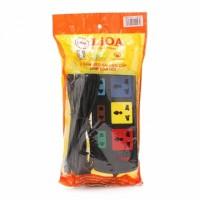 Ổ cắm điện đa năng LiOA 3D3S52 (Đen)