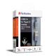 Cáp USB-A sang TypeC Verbatim Xám 66152