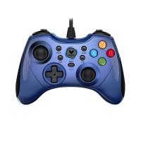 Tay cầm chơi game Rapoo V600 (xanh)