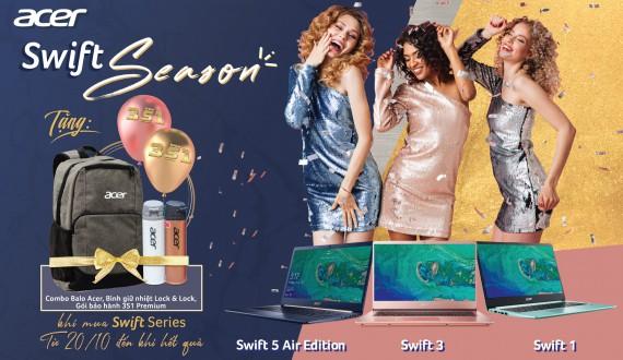 Mua Swift Series Nhận ngay Combo Quà tặng